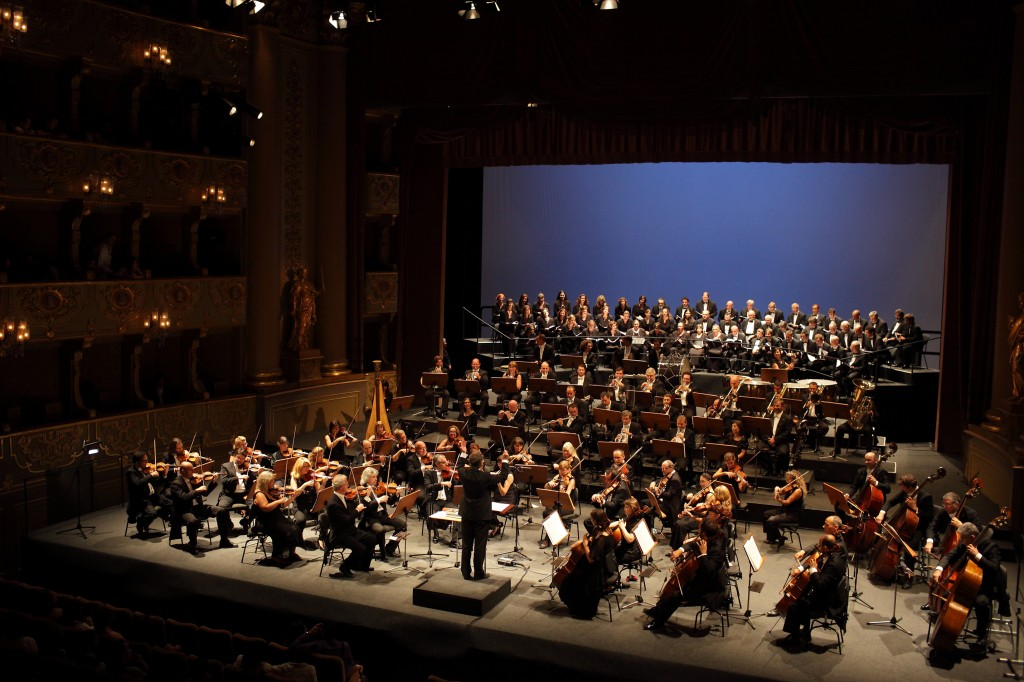 Orquestra Sinfónica Portuguesa e o Coro do Teatro Nacional de São Carlos